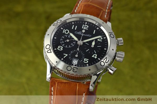 Used luxury watch Breguet Type XX chronograph steel automatic Kal. 582 Ref. 3820  | 150562 04
