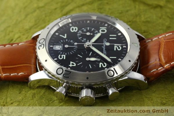 Used luxury watch Breguet Type XX chronograph steel automatic Kal. 582 Ref. 3820  | 150562 05