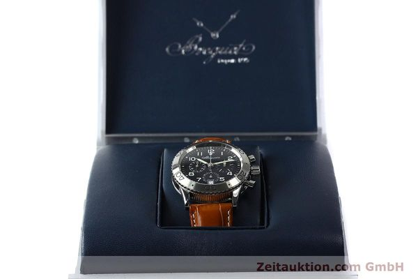 Used luxury watch Breguet Type XX chronograph steel automatic Kal. 582 Ref. 3820  | 150562 07