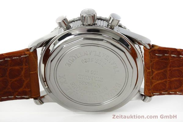 Used luxury watch Breguet Type XX chronograph steel automatic Kal. 582 Ref. 3820  | 150562 09