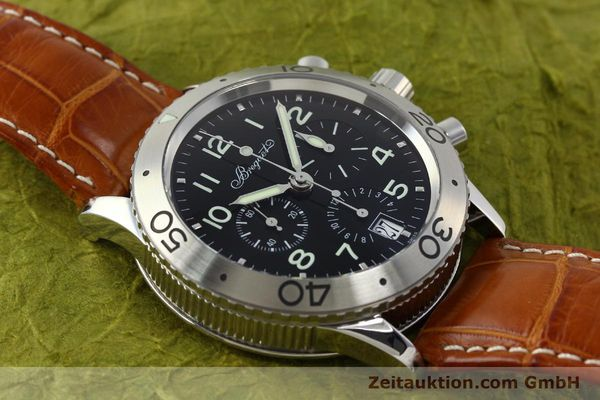 Used luxury watch Breguet Type XX chronograph steel automatic Kal. 582 Ref. 3820  | 150562 17