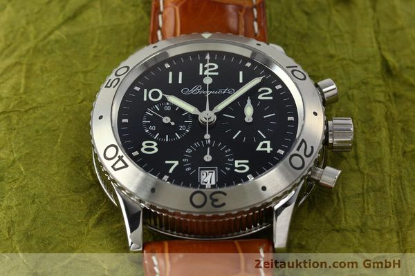 Used luxury watch Breguet Type XX chronograph steel automatic Kal. 582 Ref. 3820  | 150562 18