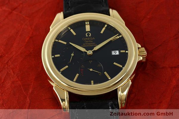 montre de luxe d occasion Omega De Ville or 18 ct automatique Kal. 2627 Ref. 46328033  | 150569 18