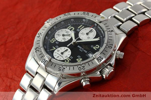 Used luxury watch Breitling Colt chronograph steel automatic Kal. B13 ETA 7750 Ref. A13035.1  | 150574 01