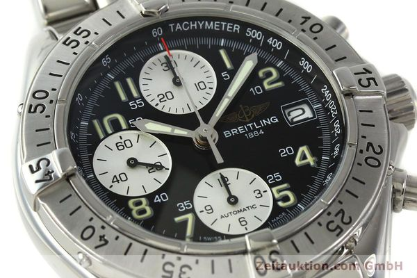 Used luxury watch Breitling Colt chronograph steel automatic Kal. B13 ETA 7750 Ref. A13035.1  | 150574 02