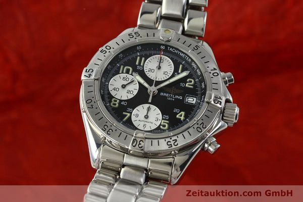 Used luxury watch Breitling Colt chronograph steel automatic Kal. B13 ETA 7750 Ref. A13035.1  | 150574 04