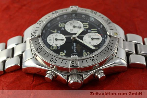 Used luxury watch Breitling Colt chronograph steel automatic Kal. B13 ETA 7750 Ref. A13035.1  | 150574 05