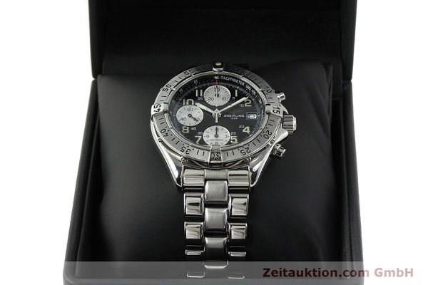 Used luxury watch Breitling Colt chronograph steel automatic Kal. B13 ETA 7750 Ref. A13035.1  | 150574 07