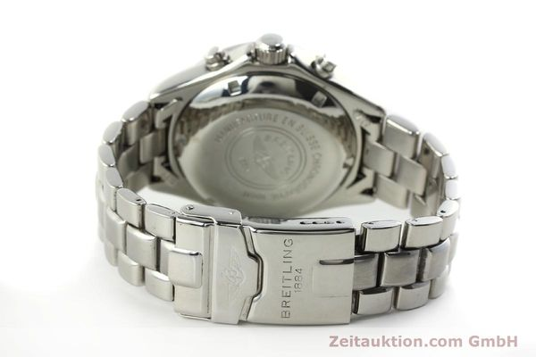 Used luxury watch Breitling Colt chronograph steel automatic Kal. B13 ETA 7750 Ref. A13035.1  | 150574 11