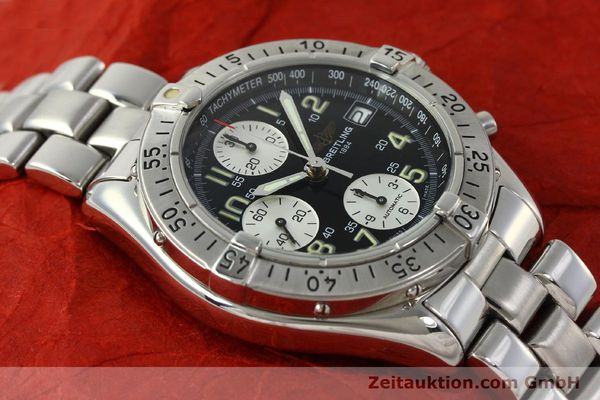 Used luxury watch Breitling Colt chronograph steel automatic Kal. B13 ETA 7750 Ref. A13035.1  | 150574 15