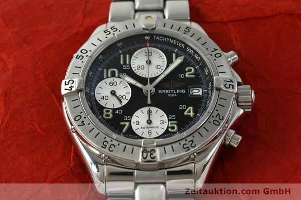 Used luxury watch Breitling Colt chronograph steel automatic Kal. B13 ETA 7750 Ref. A13035.1  | 150574 16