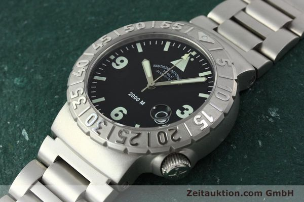 Used luxury watch Mühle Nautic Timer steel automatic Kal. ETA 2824-2 Ref. M1-41-23  | 150577 01