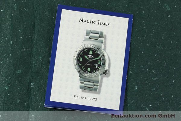 Used luxury watch Mühle Nautic Timer steel automatic Kal. ETA 2824-2 Ref. M1-41-23  | 150577 08
