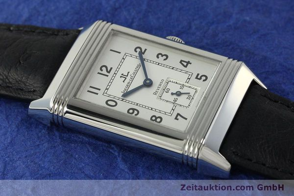 Used luxury watch Jaeger Le Coultre Reverso steel manual winding Kal. 822 Ref. 270.8.62  | 150580 15