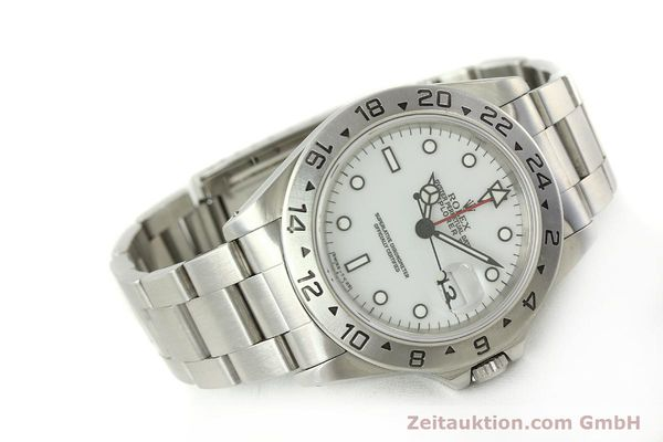 Used luxury watch Rolex Explorer II steel automatic Kal. 3185 Ref. 16570  | 150586 03