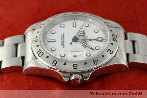 Used luxury watch Rolex Explorer II steel automatic Kal. 3185 Ref. 16570  | 150586 05