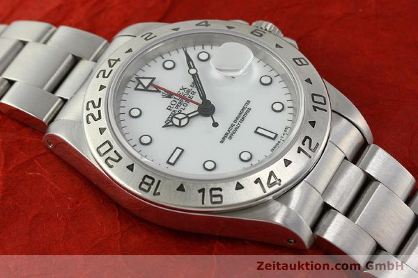 Used luxury watch Rolex Explorer II steel automatic Kal. 3185 Ref. 16570  | 150586 14