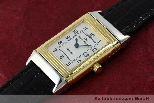 Used luxury watch Jaeger Le Coultre Reverso steel quartz Kal. 608 Ref. 260.5.08  | 150587 01