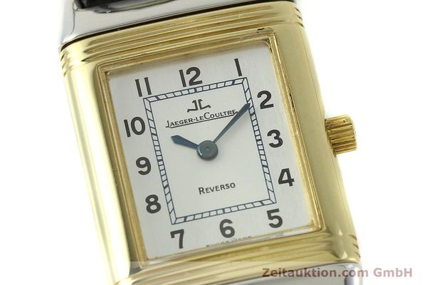 Used luxury watch Jaeger Le Coultre Reverso steel quartz Kal. 608 Ref. 260.5.08  | 150587 02