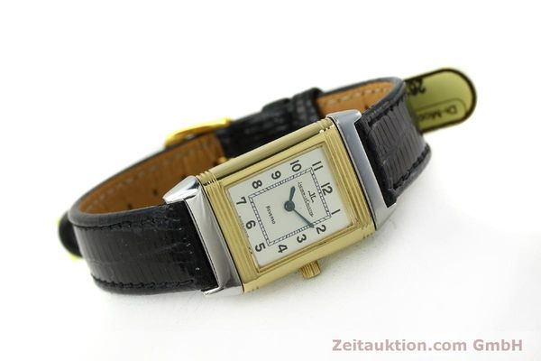 Used luxury watch Jaeger Le Coultre Reverso steel quartz Kal. 608 Ref. 260.5.08  | 150587 03