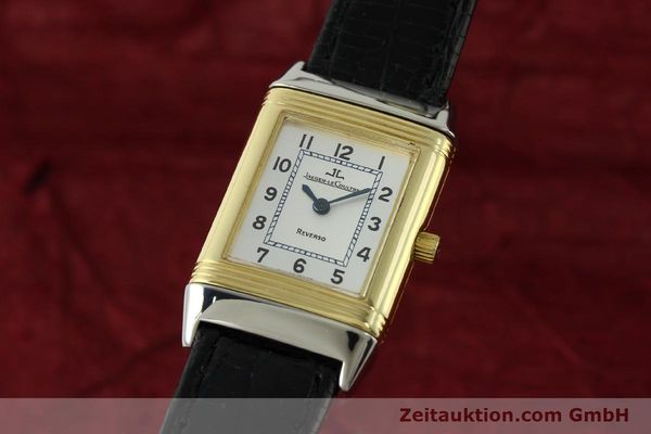 Used luxury watch Jaeger Le Coultre Reverso steel quartz Kal. 608 Ref. 260.5.08  | 150587 04