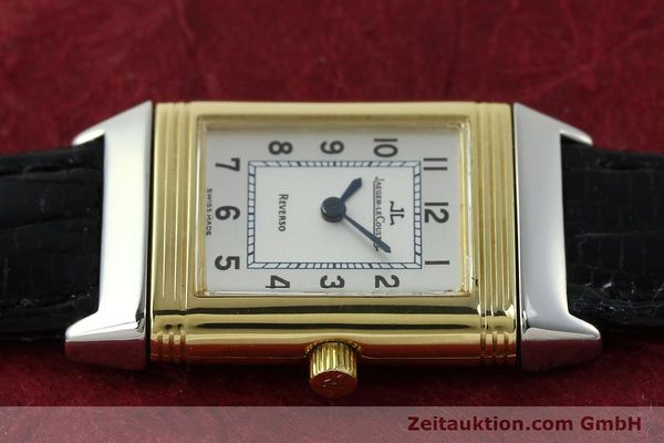 Used luxury watch Jaeger Le Coultre Reverso steel quartz Kal. 608 Ref. 260.5.08  | 150587 05