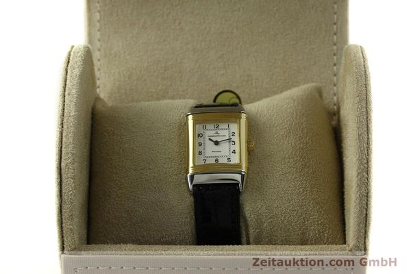 Used luxury watch Jaeger Le Coultre Reverso steel quartz Kal. 608 Ref. 260.5.08  | 150587 07