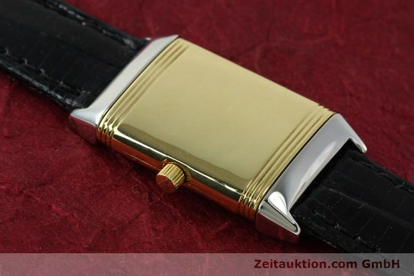 Used luxury watch Jaeger Le Coultre Reverso steel quartz Kal. 608 Ref. 260.5.08  | 150587 11
