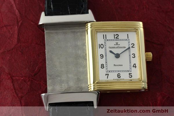 Used luxury watch Jaeger Le Coultre Reverso steel quartz Kal. 608 Ref. 260.5.08  | 150587 12