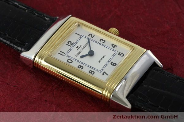 Used luxury watch Jaeger Le Coultre Reverso steel quartz Kal. 608 Ref. 260.5.08  | 150587 13