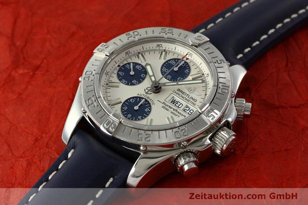 Used luxury watch Breitling Superocean Chronograph chronograph steel automatic Kal. B13 ETA 7750 Ref. A13340  | 150588 01