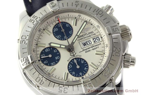 Used luxury watch Breitling Superocean Chronograph chronograph steel automatic Kal. B13 ETA 7750 Ref. A13340  | 150588 02