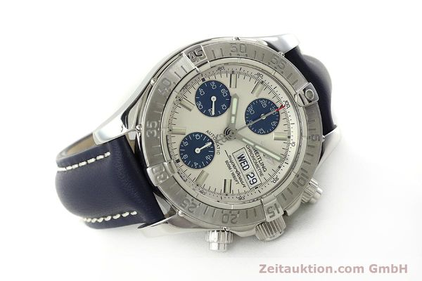 Used luxury watch Breitling Superocean Chronograph chronograph steel automatic Kal. B13 ETA 7750 Ref. A13340  | 150588 03