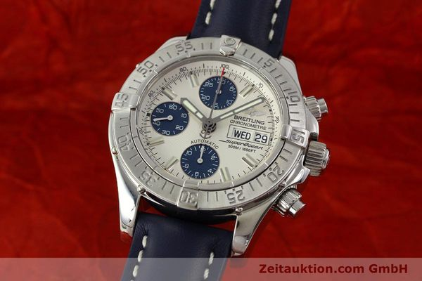 Used luxury watch Breitling Superocean Chronograph chronograph steel automatic Kal. B13 ETA 7750 Ref. A13340  | 150588 04