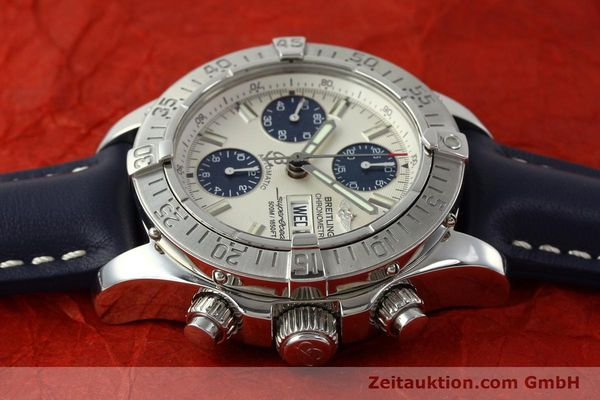 Used luxury watch Breitling Superocean Chronograph chronograph steel automatic Kal. B13 ETA 7750 Ref. A13340  | 150588 05