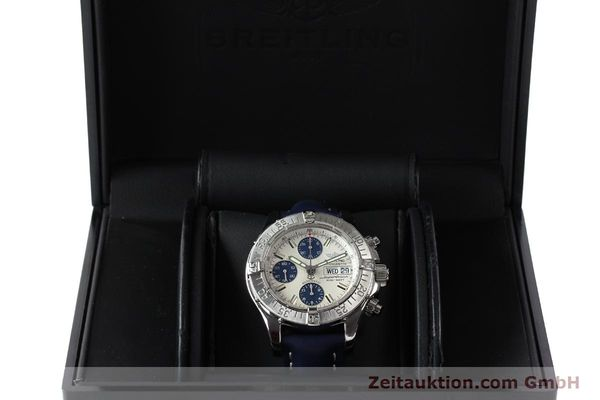 Used luxury watch Breitling Superocean Chronograph chronograph steel automatic Kal. B13 ETA 7750 Ref. A13340  | 150588 07