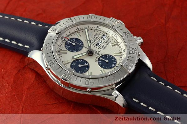 Used luxury watch Breitling Superocean Chronograph chronograph steel automatic Kal. B13 ETA 7750 Ref. A13340  | 150588 17