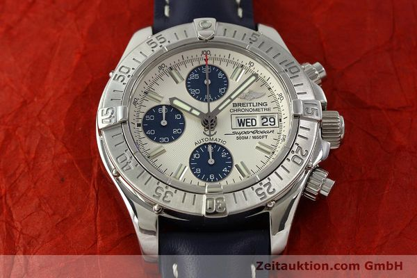 Used luxury watch Breitling Superocean Chronograph chronograph steel automatic Kal. B13 ETA 7750 Ref. A13340  | 150588 18