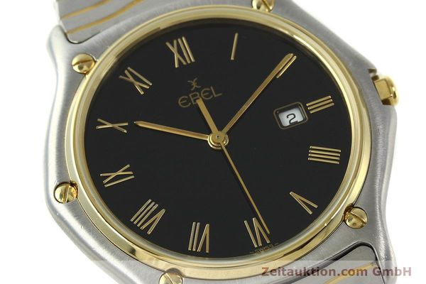 Used luxury watch Ebel Classic Wave steel / gold quartz Kal. 83 Ref. 183903  | 150589 02