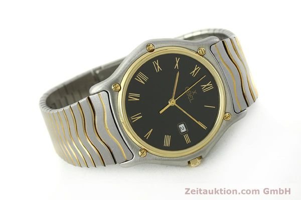 Used luxury watch Ebel Classic Wave steel / gold quartz Kal. 83 Ref. 183903  | 150589 03