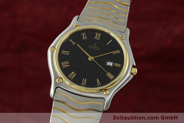Used luxury watch Ebel Classic Wave steel / gold quartz Kal. 83 Ref. 183903  | 150589 04