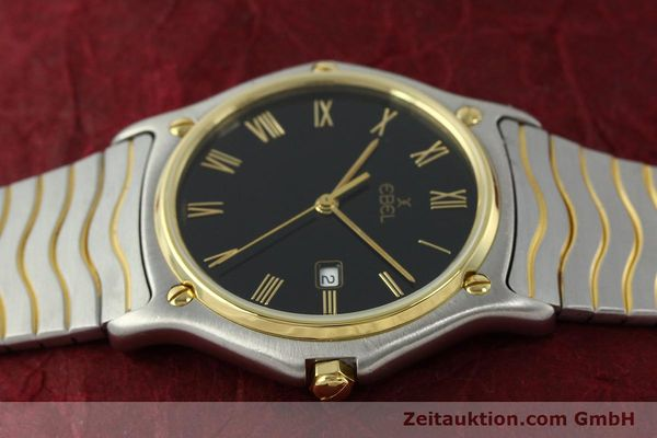 Used luxury watch Ebel Classic Wave steel / gold quartz Kal. 83 Ref. 183903  | 150589 05