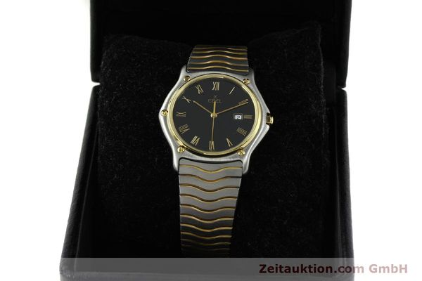 Used luxury watch Ebel Classic Wave steel / gold quartz Kal. 83 Ref. 183903  | 150589 07