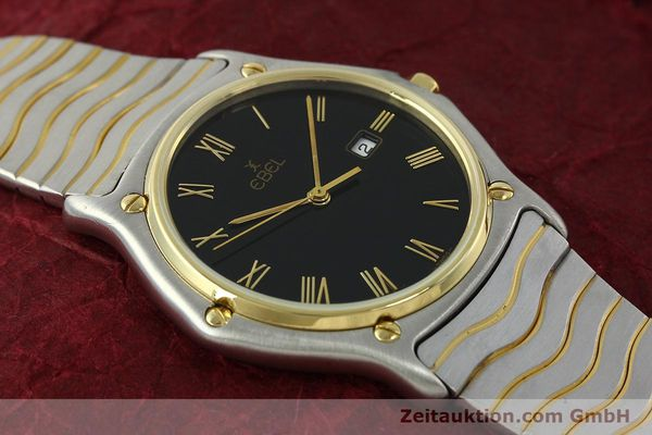 Used luxury watch Ebel Classic Wave steel / gold quartz Kal. 83 Ref. 183903  | 150589 14