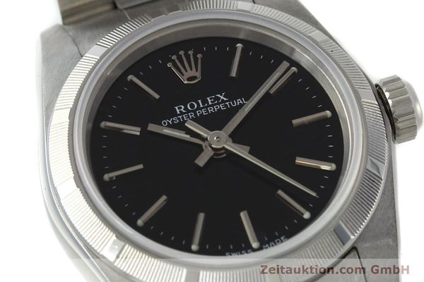 Used luxury watch Rolex Oyster Perpetual steel automatic Kal. 2230 Ref. 76030  | 150591 02