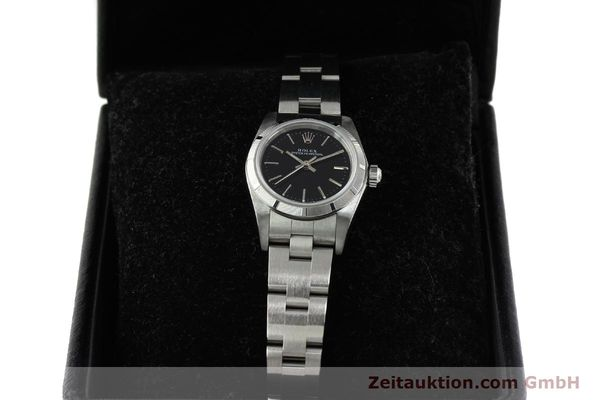 Used luxury watch Rolex Oyster Perpetual steel automatic Kal. 2230 Ref. 76030  | 150591 07