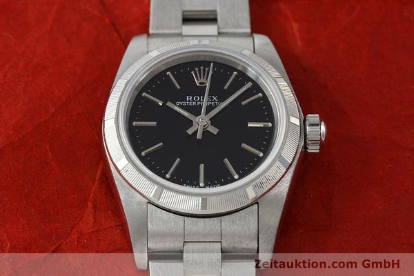 Used luxury watch Rolex Oyster Perpetual steel automatic Kal. 2230 Ref. 76030  | 150591 15