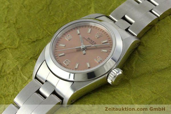 Used luxury watch Rolex Oyster Perpetual steel automatic Kal. 2130 Ref. 67180  | 150592 01