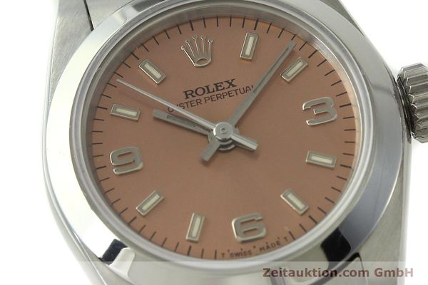 Used luxury watch Rolex Oyster Perpetual steel automatic Kal. 2130 Ref. 67180  | 150592 02