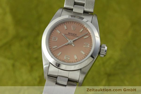 Used luxury watch Rolex Oyster Perpetual steel automatic Kal. 2130 Ref. 67180  | 150592 04